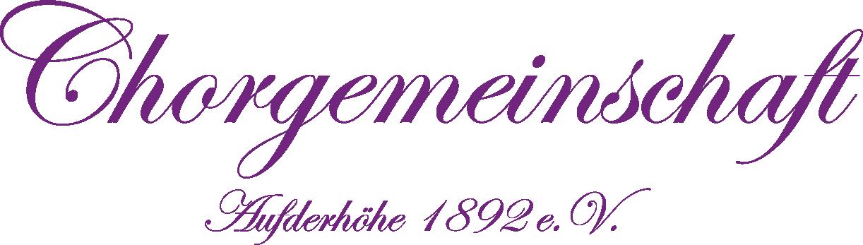 Chorgemeinschaft Aufderhoehe 1892 e.V.